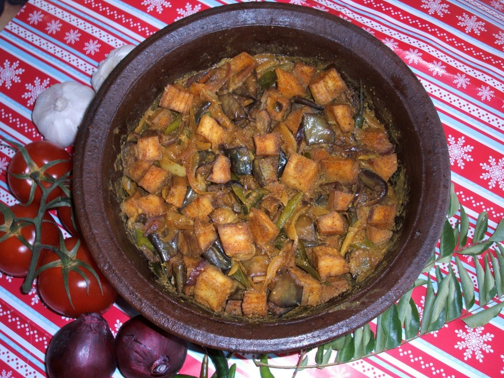 Ashplant And Aubergine Curry