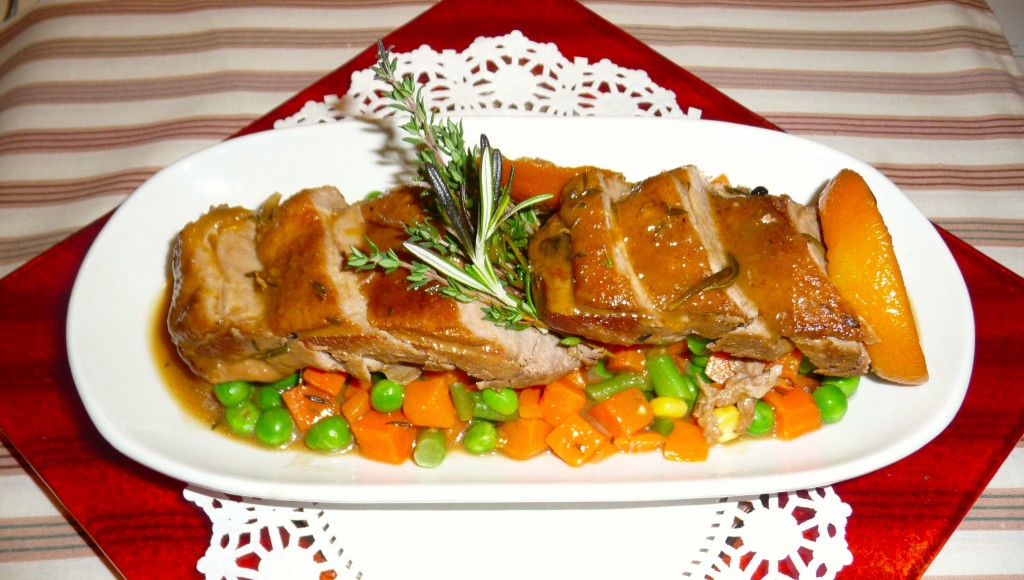 Duck Breast With Orange and Herbs