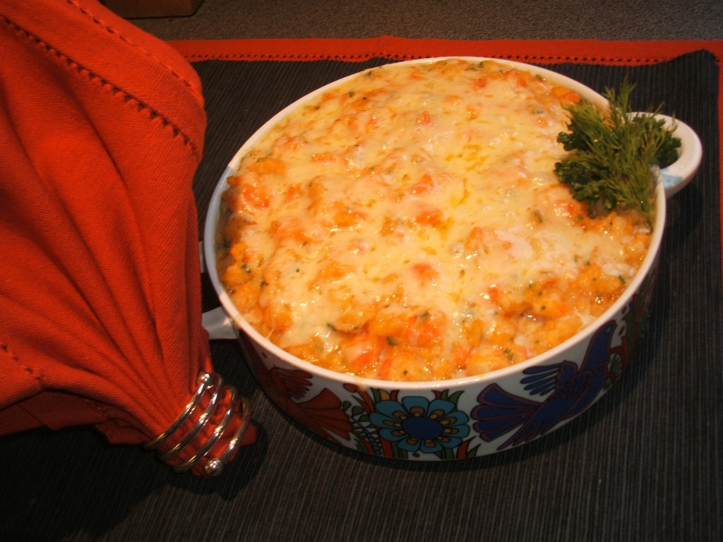 Fish Pie with Butternut Mash
