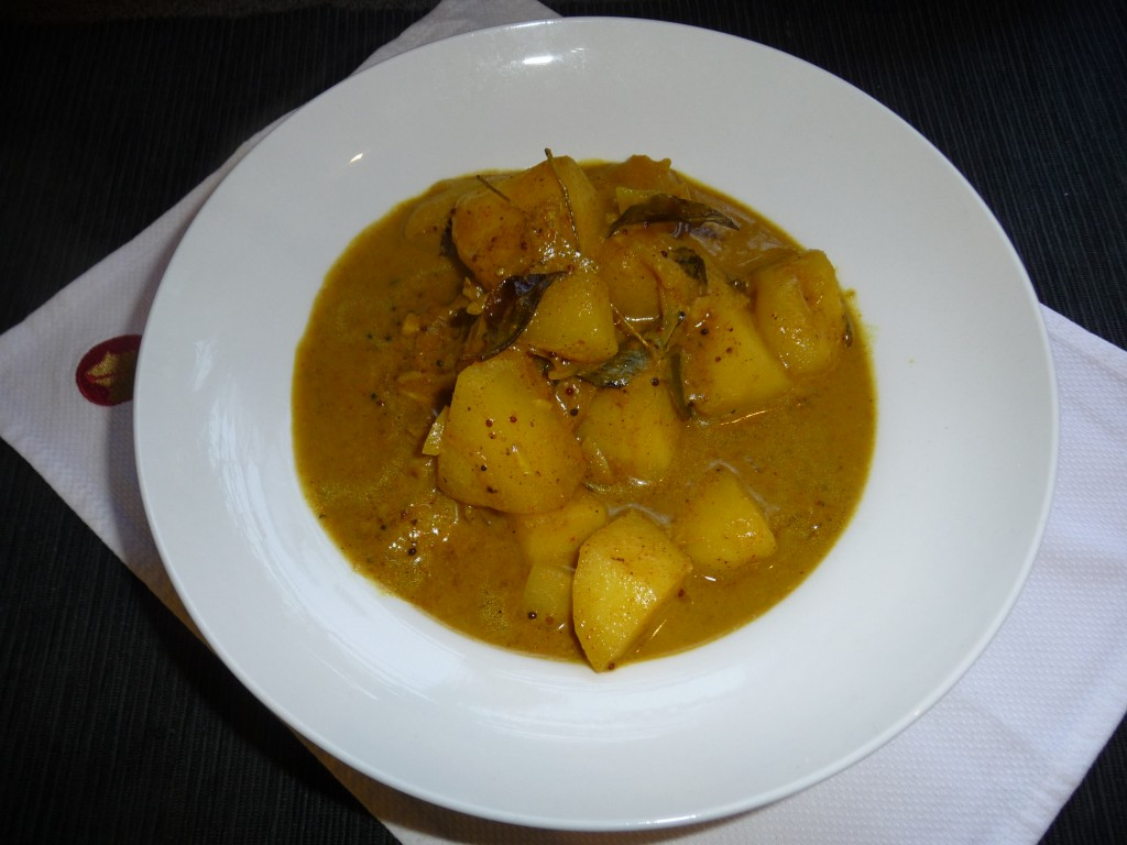 green apple curry